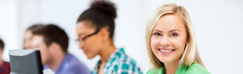 Kvinna på WordPress kurs och utbildning i Stockholm